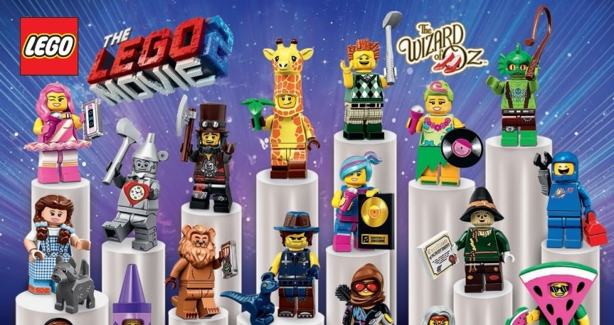 Introducing All 20 Characters From The Lego Movie 2 Minifigures Series Coming February 2019 Jay S Brick Blog