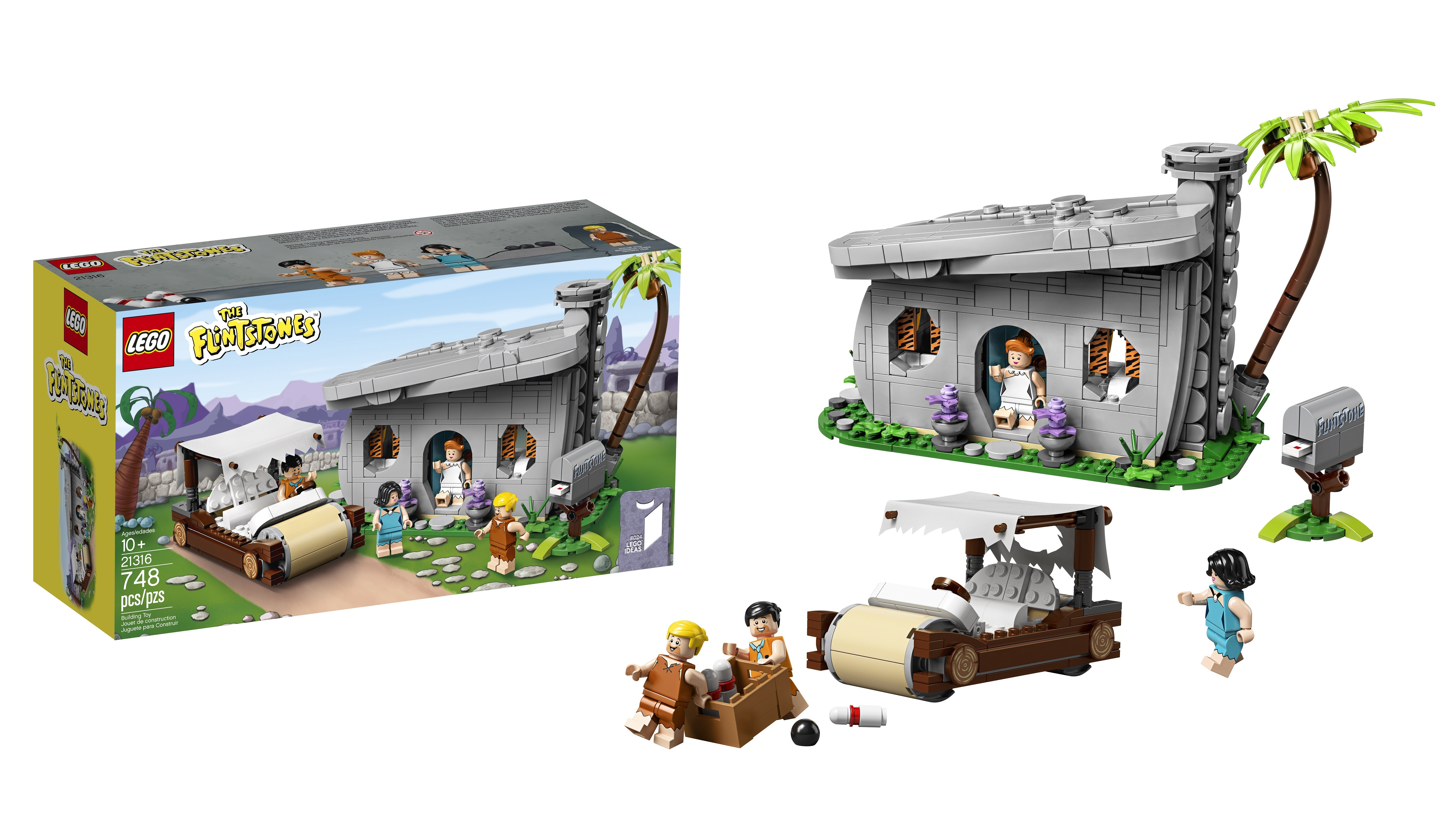 Official reveal of 21316 The Flintstones LEGO Ideas set! – Jay's