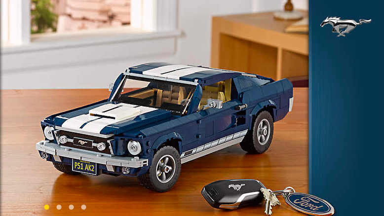 The Lego Creator Expert Ford Mustang 2019 Now Available With Bonus