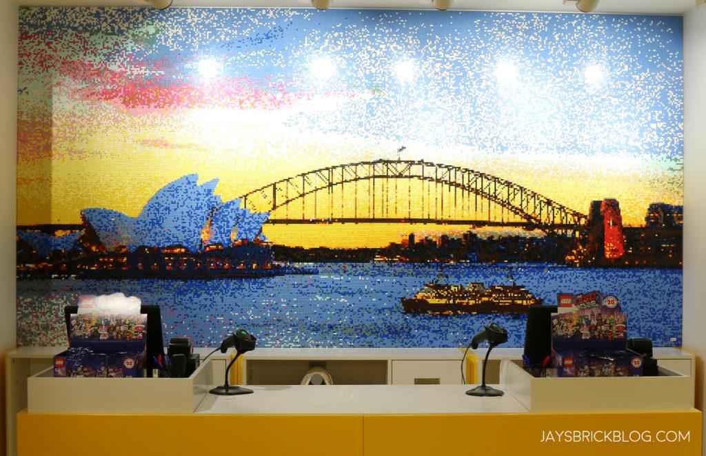 LEGO Sydney Bridge