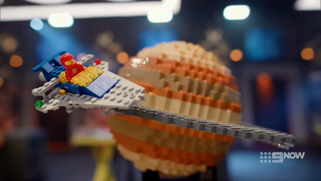 LEGO Masters Australia Episode 2 Classic Space Planet