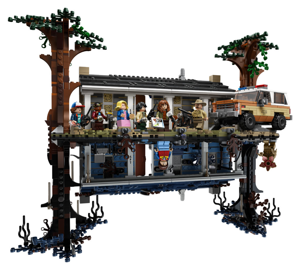 LEGO 75810 Stranger Things The Upside Down Front