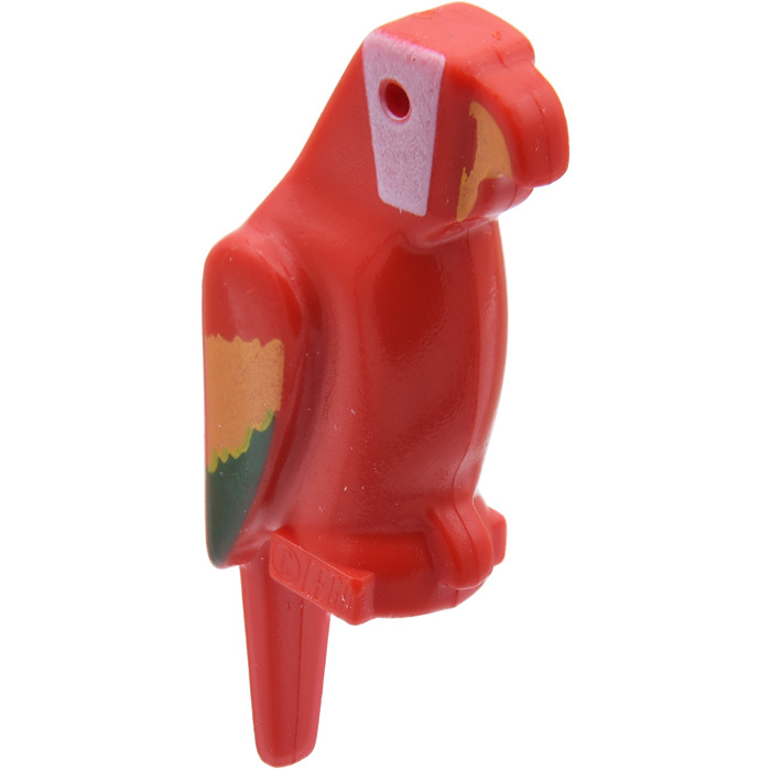 Lego mini figure 1 Red and Green Parrot bird NEW