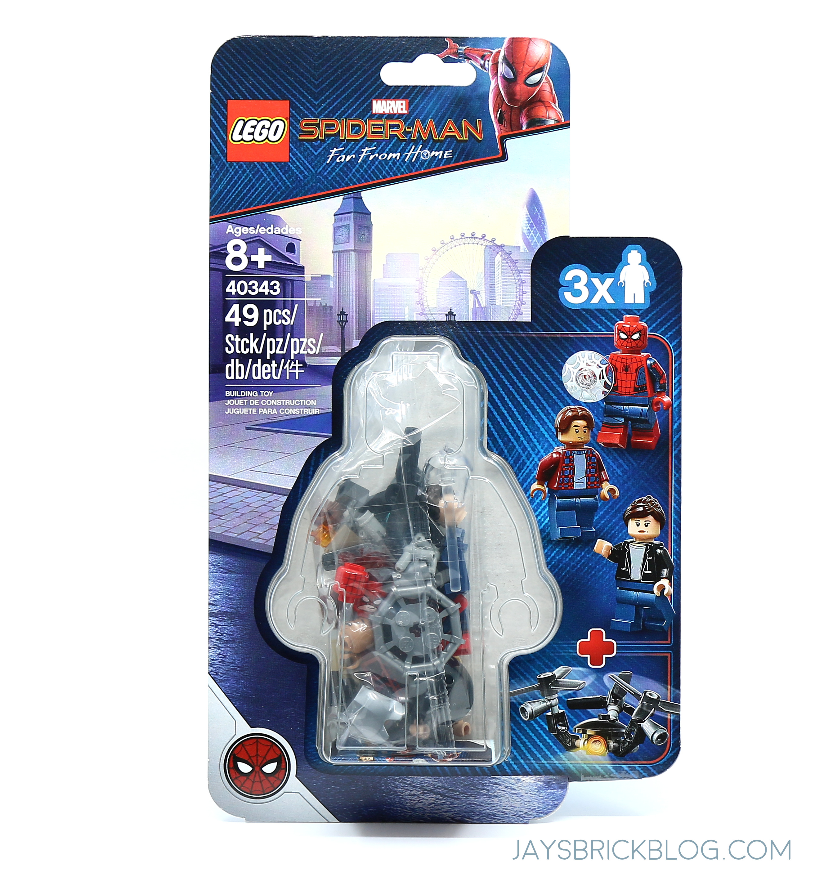 Minifigure Spider Far Man Home 40343 ReviewLego Pack From 8nN0XOwkP