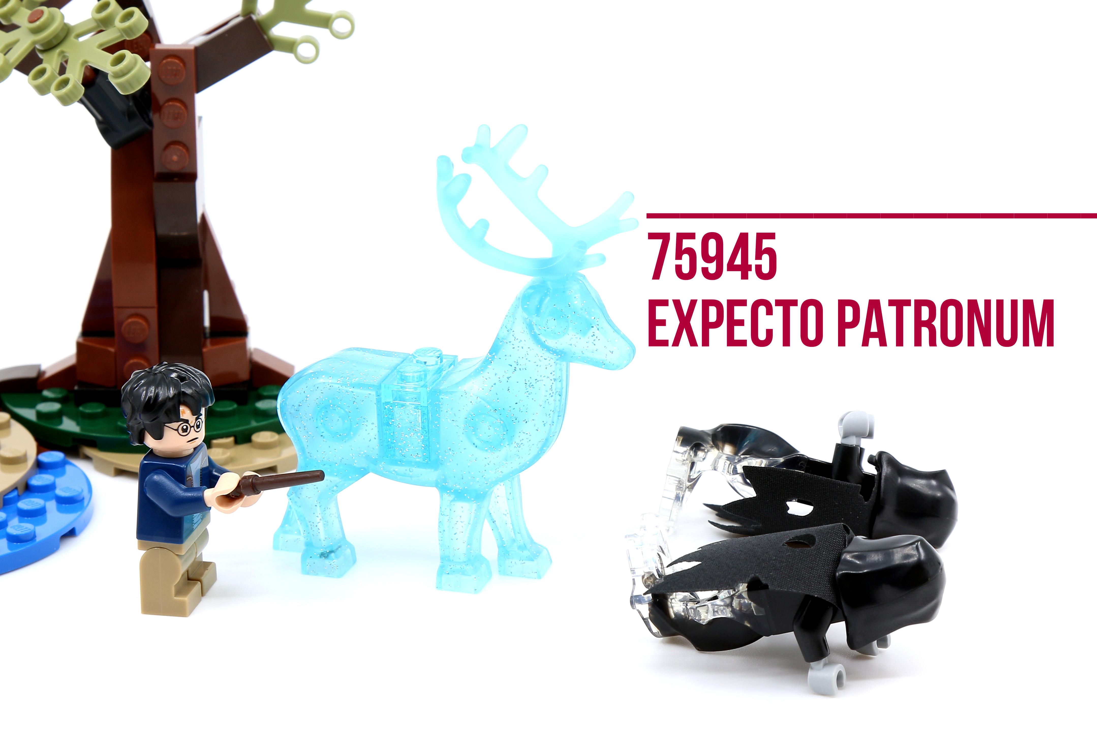 LEGO® Harry Potter Expecto Patronum Building Set 75945 NEW