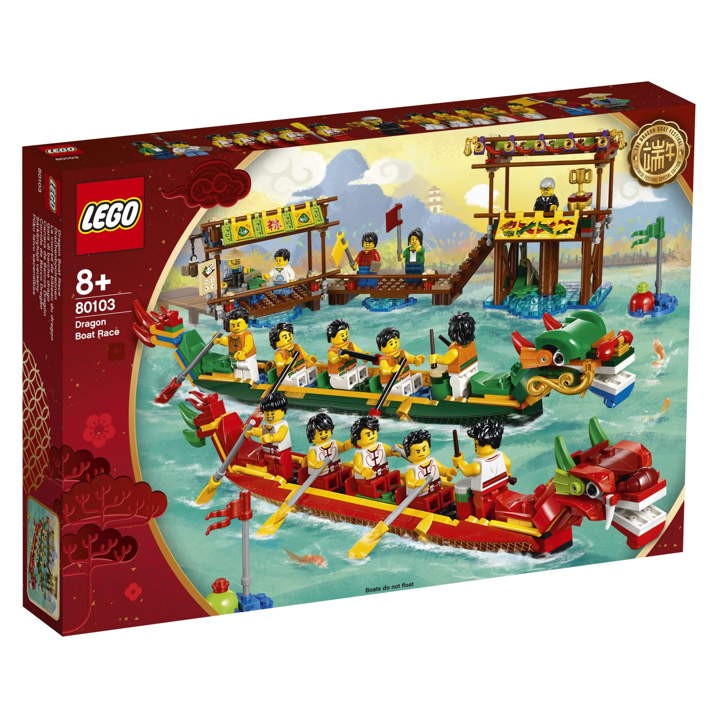 Review: LEGO 80103 Dragon Boat Race