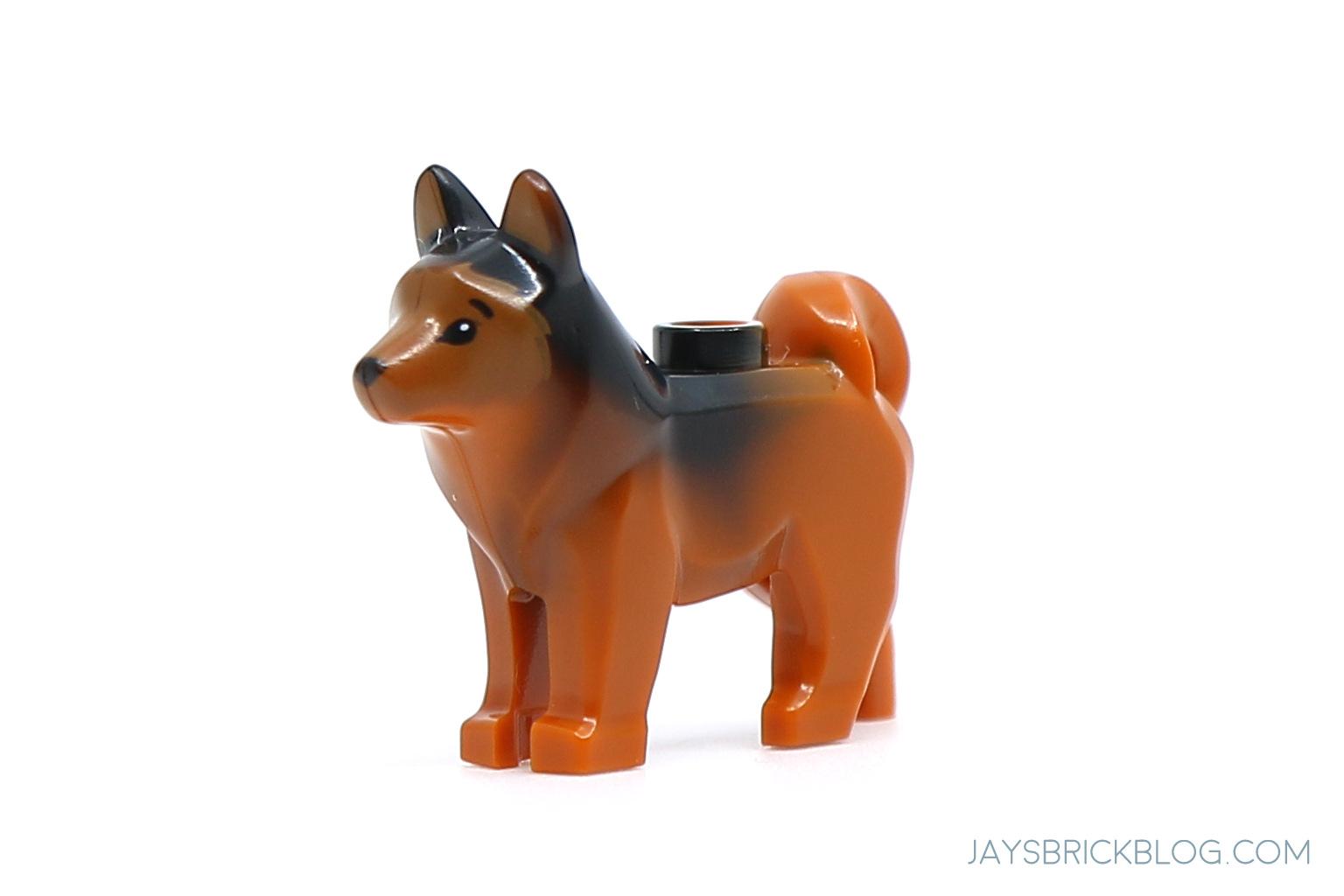Lego Jurassic World Minifigure Animal RED the Husky Dog from set 75935 New
