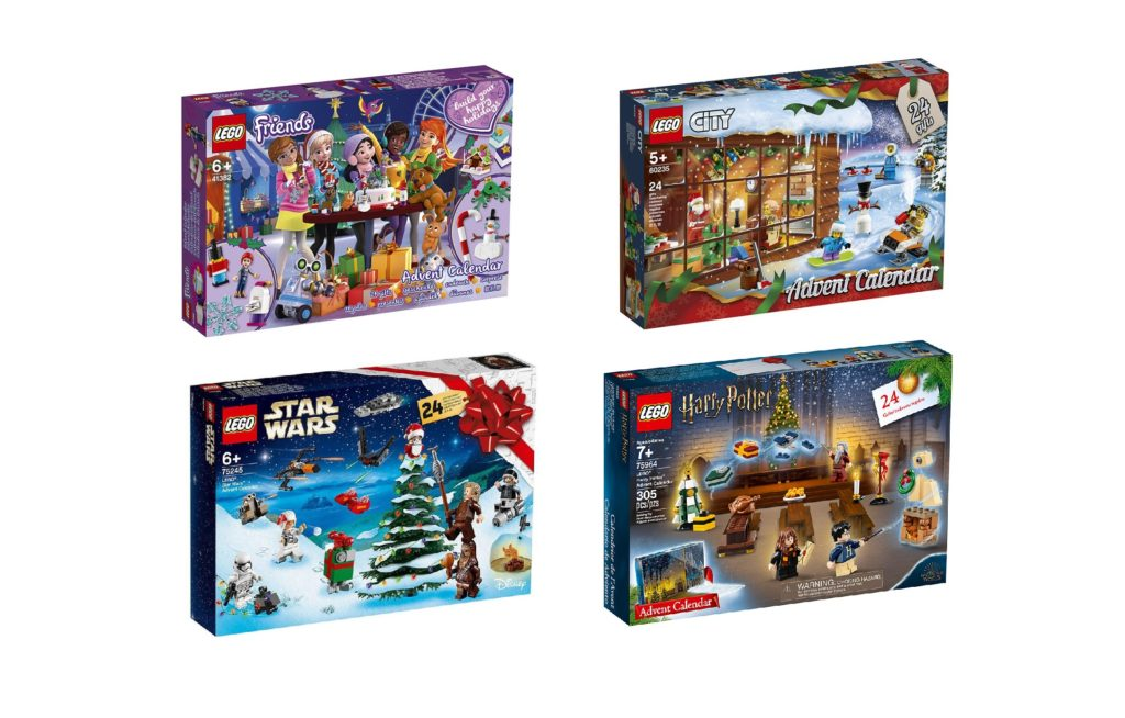 Harry Potter Advent Calendar.2019 Lego Advent Calendars Revealed Harry Potter Star Wars City