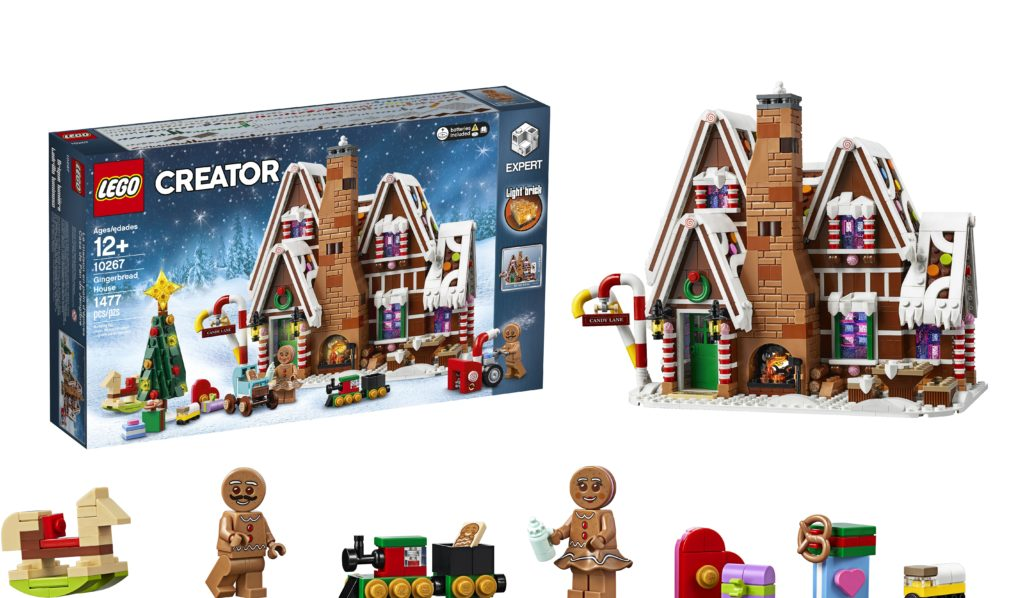 Christmas theme Lego Brick mini figures