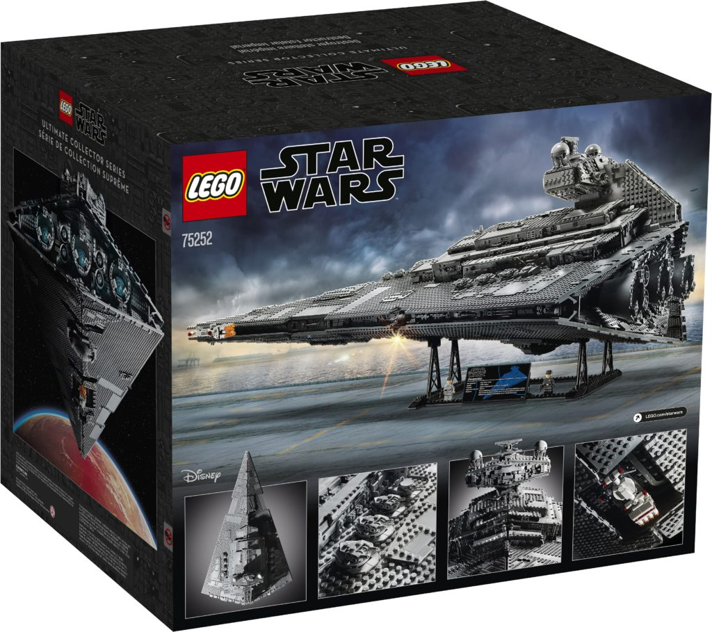 This is the new 4,784-piece LEGO 75252 UCS Imperial Star