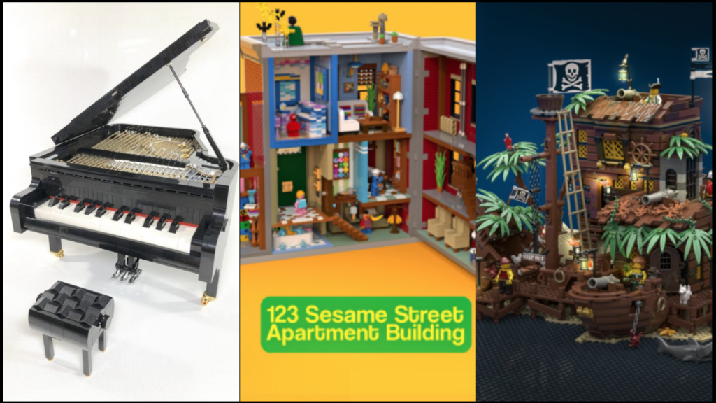 Thepiratebay Halloween 2020 LEGO Sesame Street, The Pirate Bay and a Playable Piano are coming