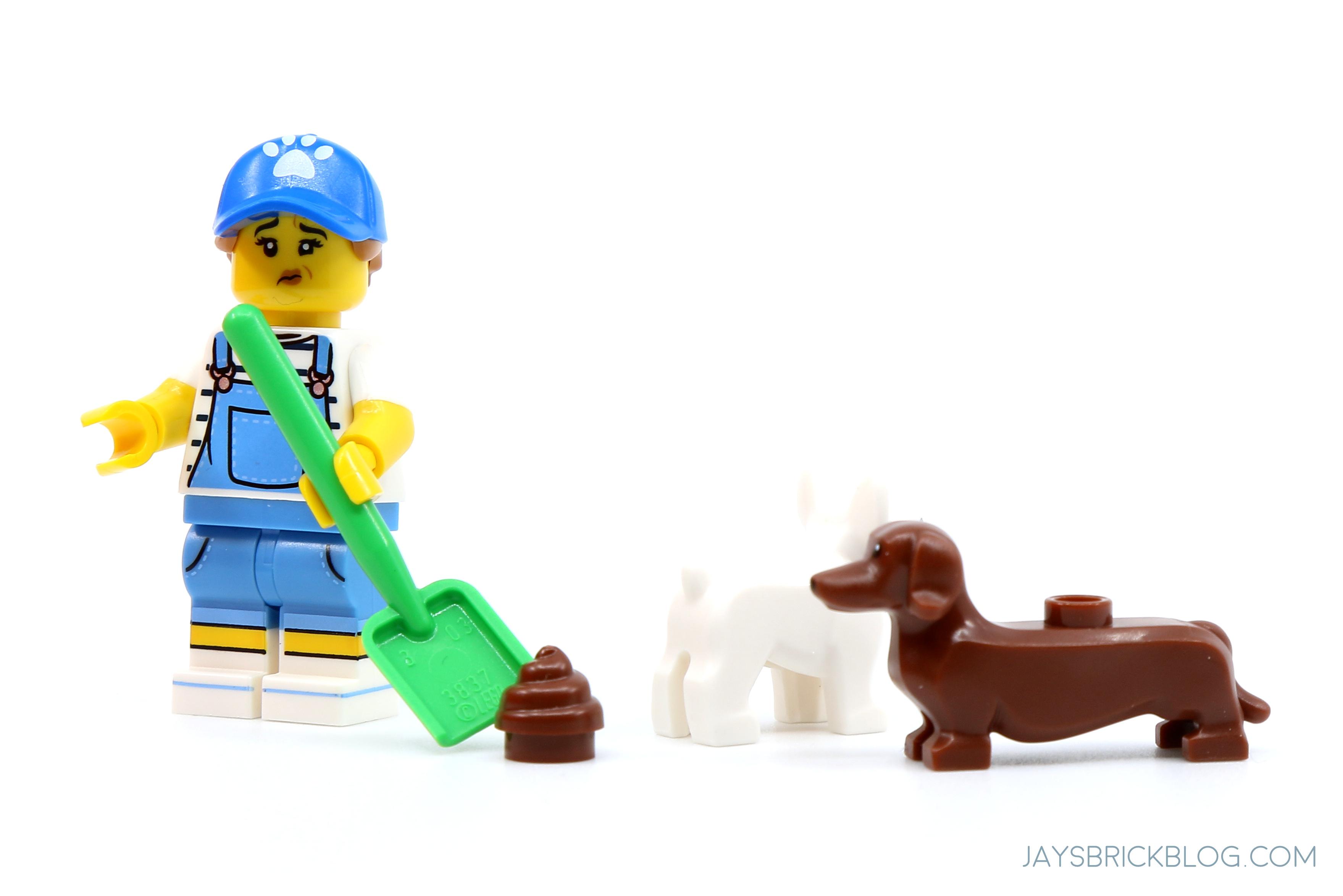 LEGO Animal pet fox Light Blue Gray
