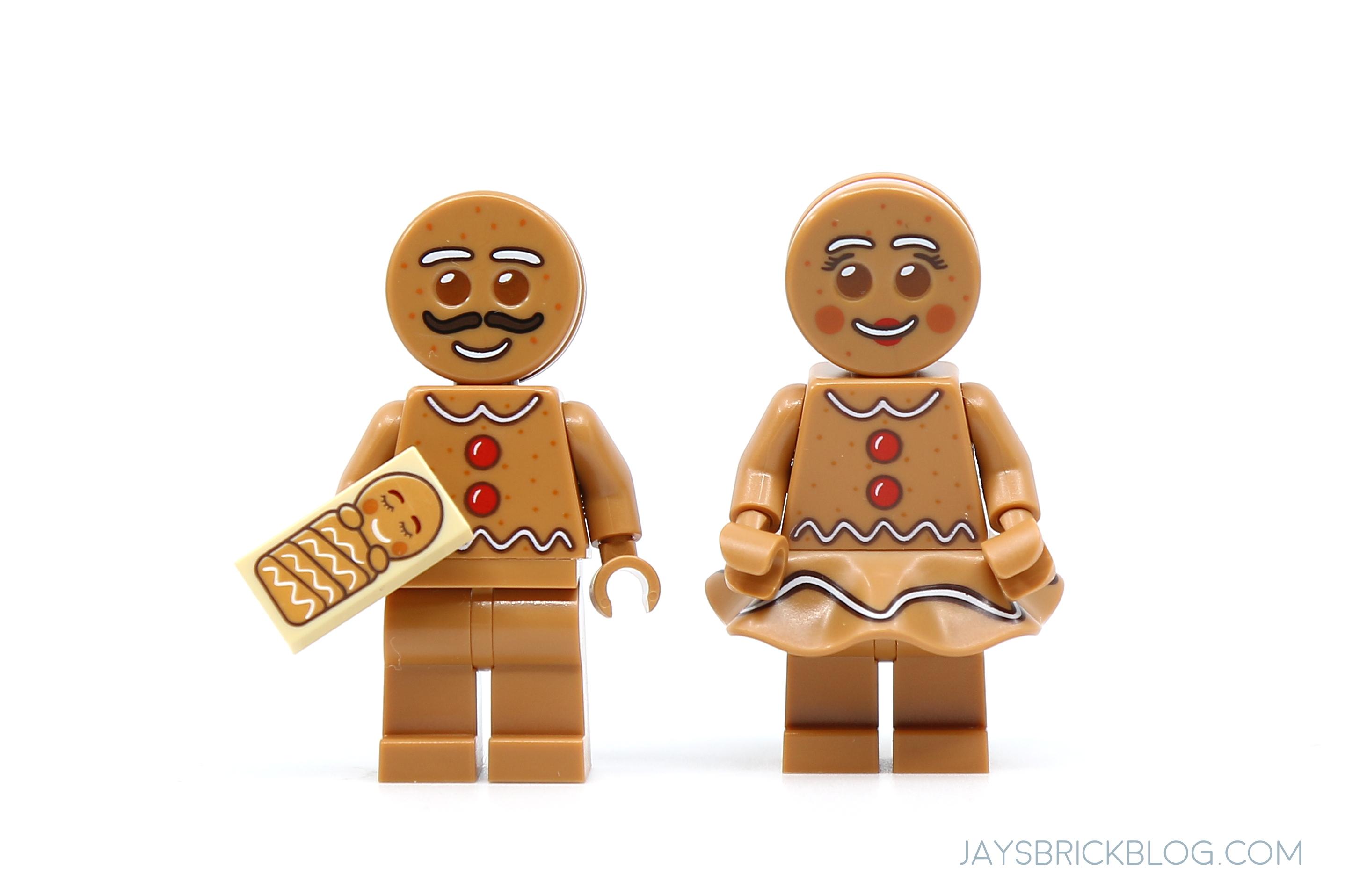 LEGO Minifigure Gingerbread Man Moustache