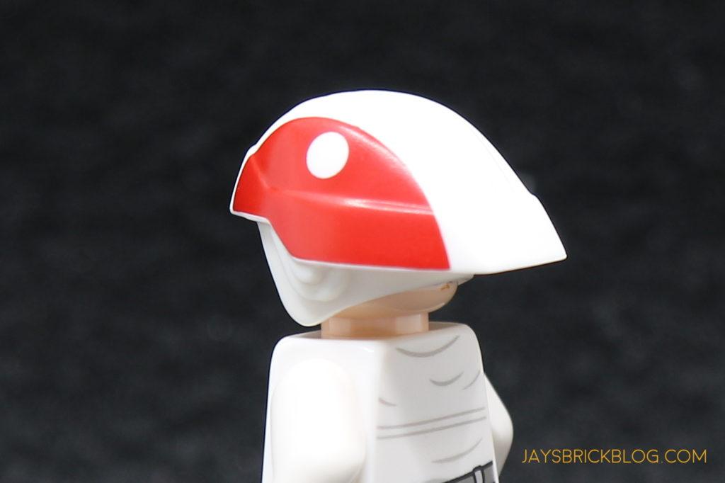 Headgear Helmet Standard with SW Black B-Wing Star Wars LEGO x 10 Gray Minifig