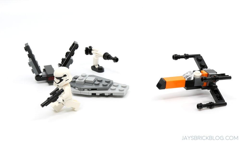 Lego /'19 Store Exclusive 56 Pcs Star Wars TANTIVE IV Mini Build instructions