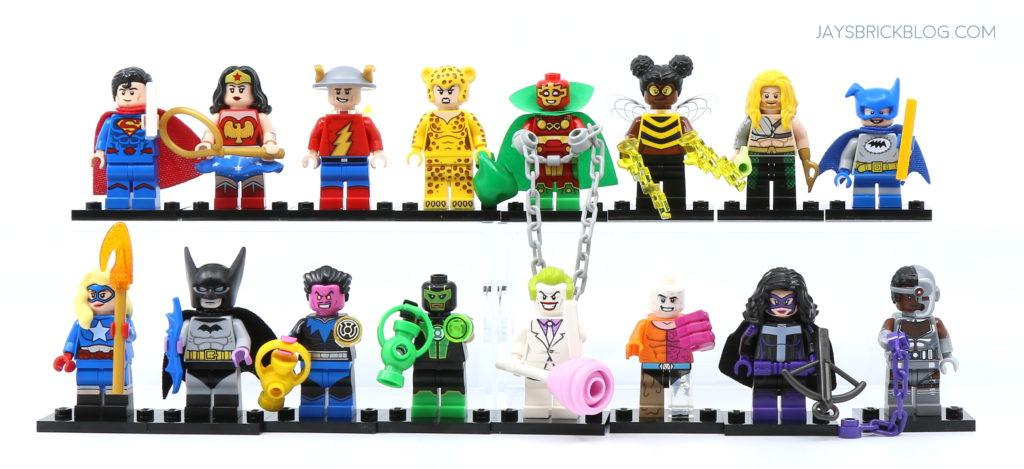 Lego Minifig DC Heros Minifigure Series Superman Choose Part NEW