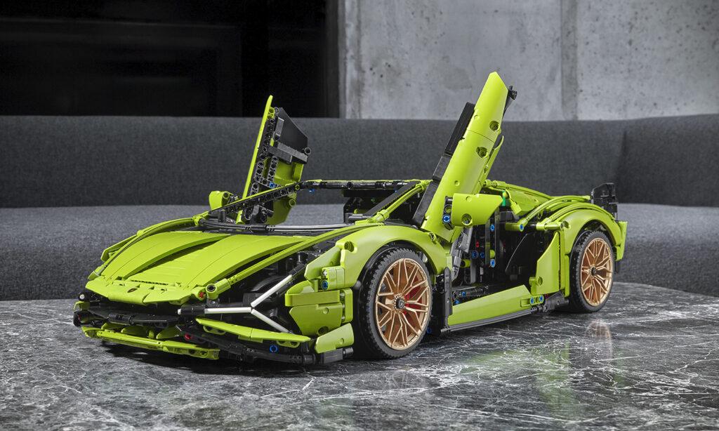 LEGO Technic 42115 Lamborghini Sian Doors