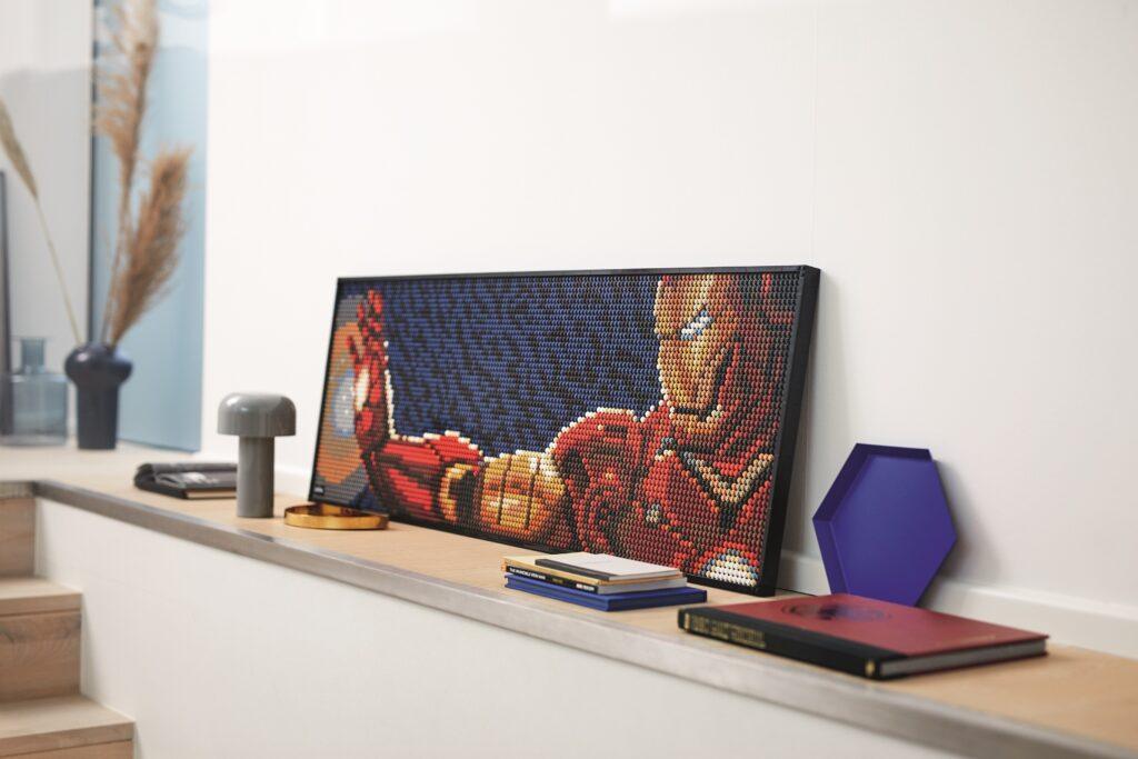 LEGO Art 31199 Iron Man Iron Man Triple Display