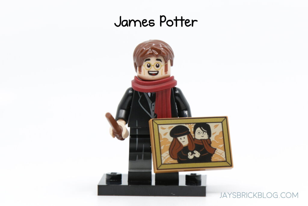 LEGO Harry Potter Minifig with Red Checkered Shirt Made From Lego NEW