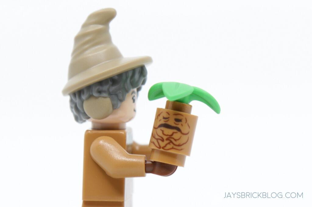 LEGO 5 x Elf Chapeau Avec Oreilles pointues Vert Top Motif Noël