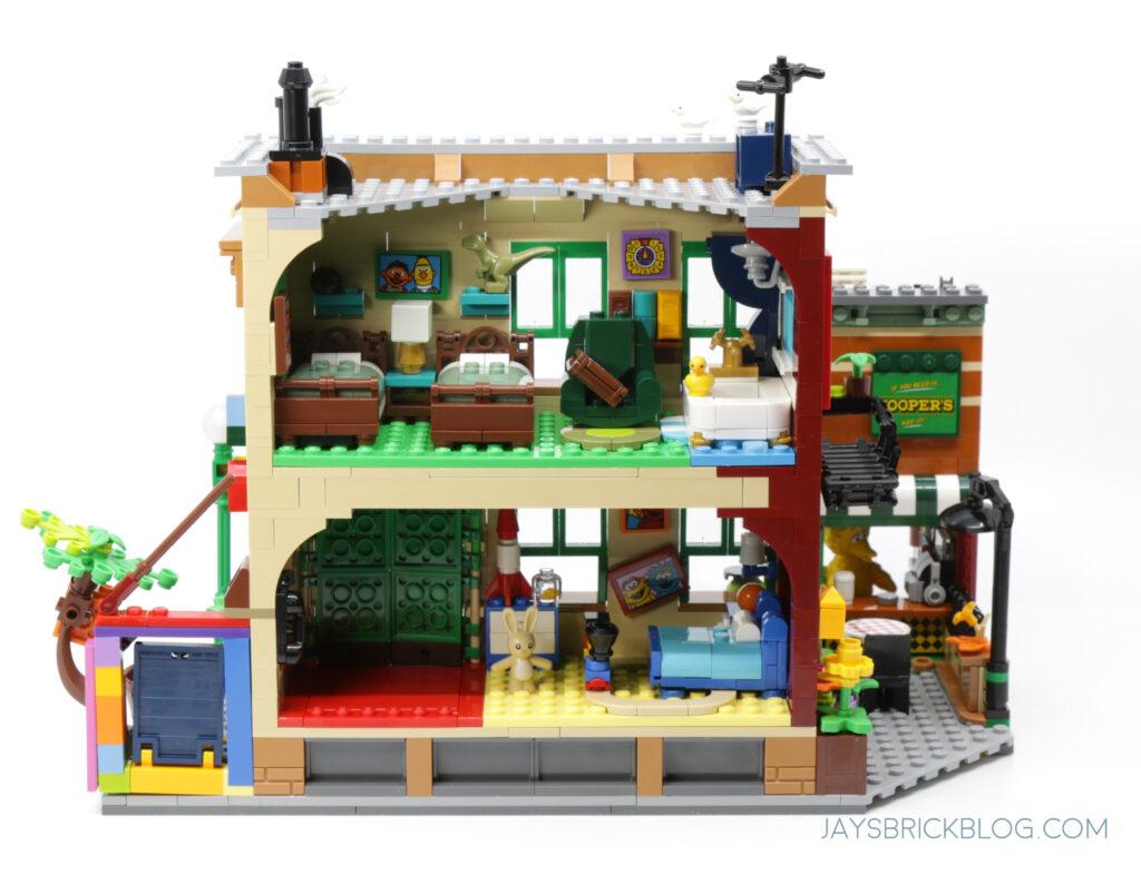 LEGO Ideas Sesame Street Back