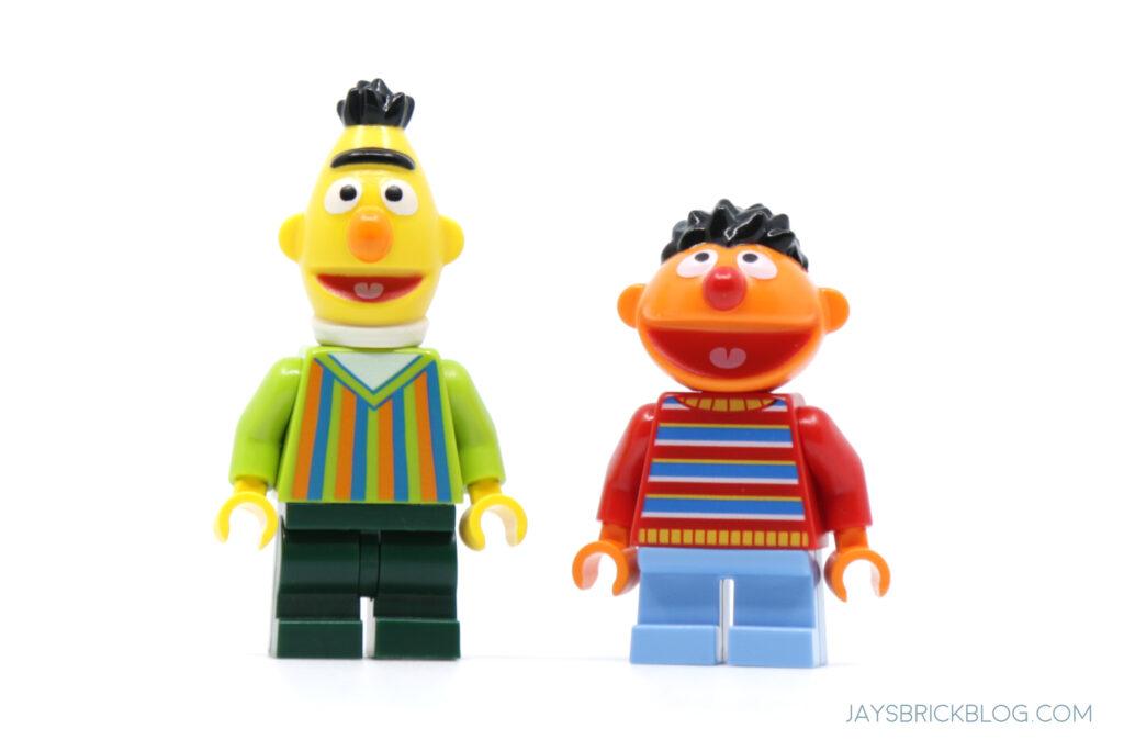 LEGO Bert and Ernie Minifigure