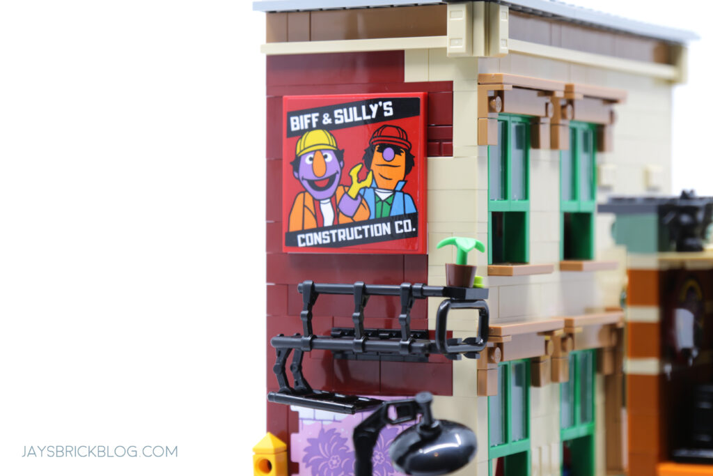 LEGO Sesame Street Biff and Sully's Construction Co Poster
