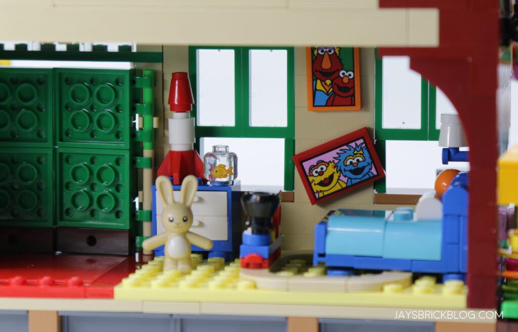 LEGO Sesame Street Elmo's Room
