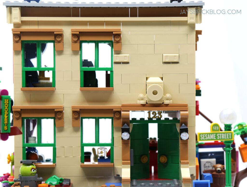 LEGO Sesame Street Facade