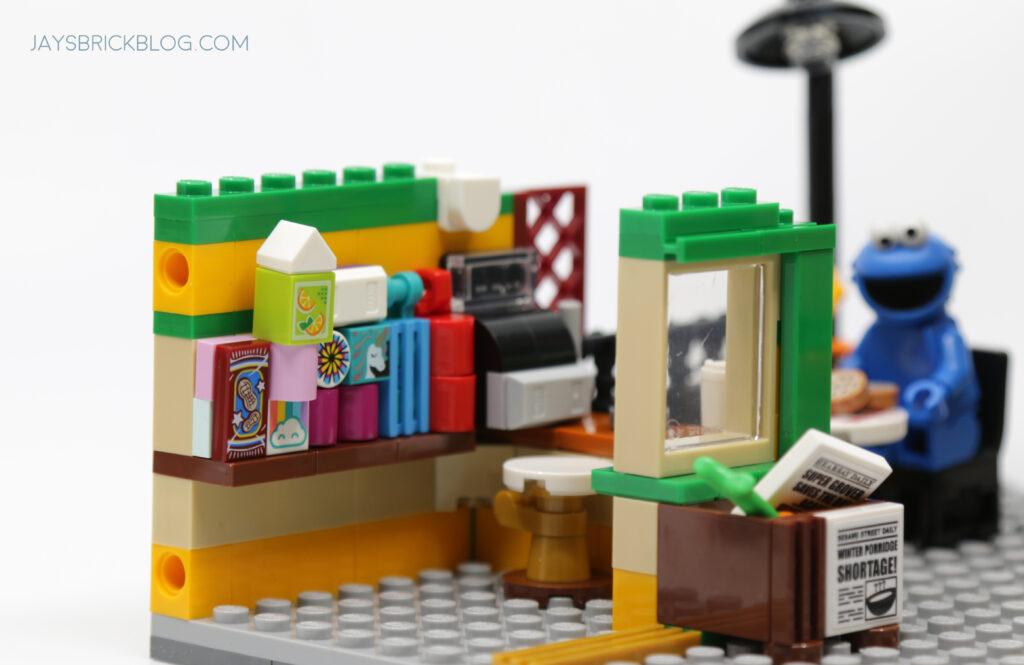 LEGO Sesame Street Hooper's Store Interior