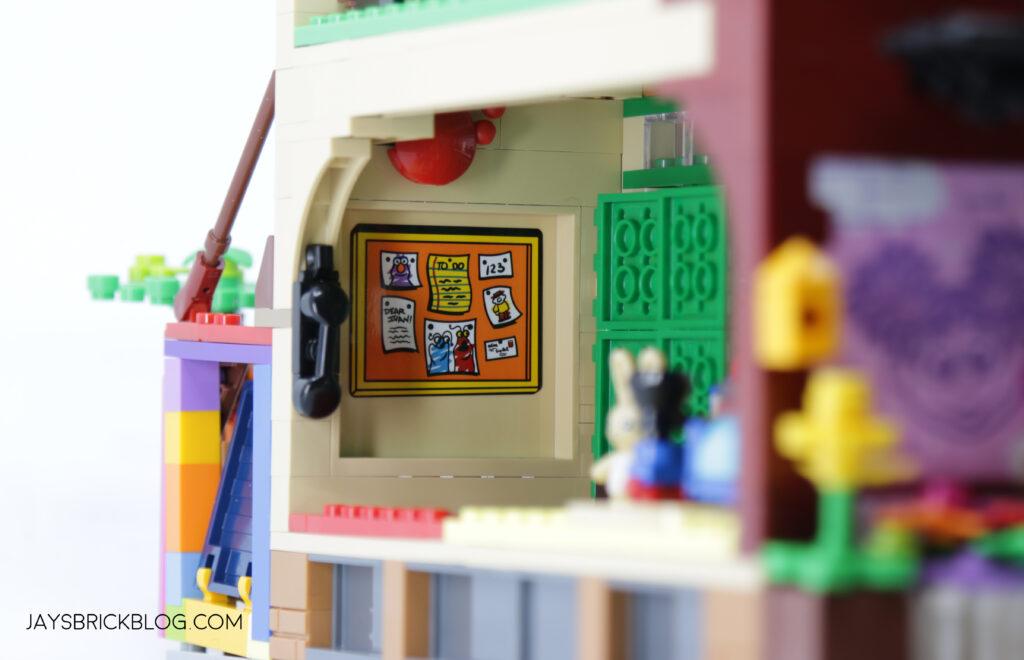 LEGO Sesame Street Corkboard