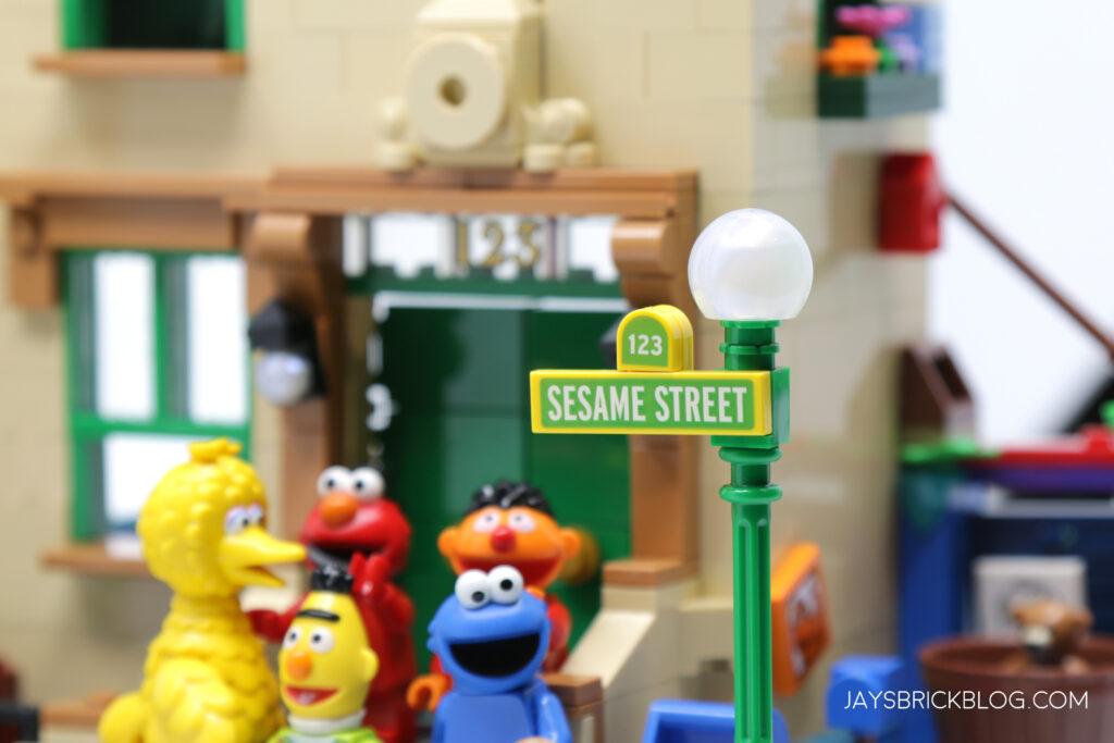 LEGO Sesame Street Sign