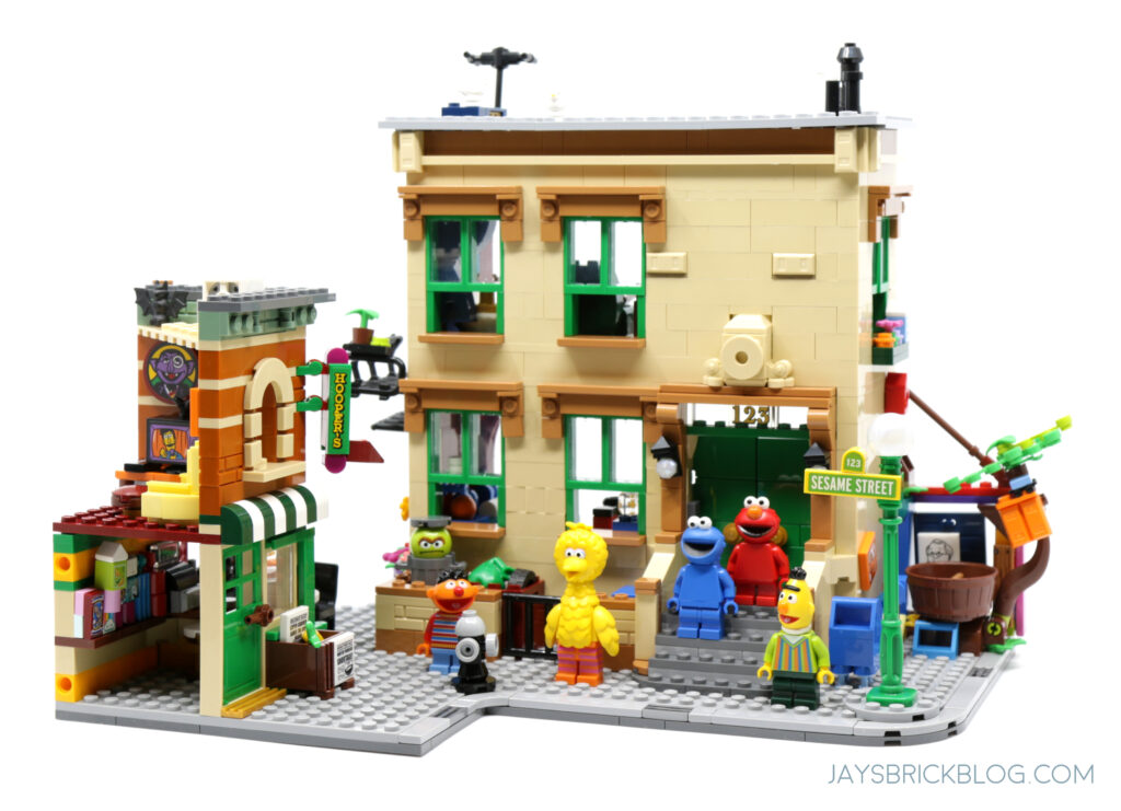 LEGO Ideas Sesame Street Set