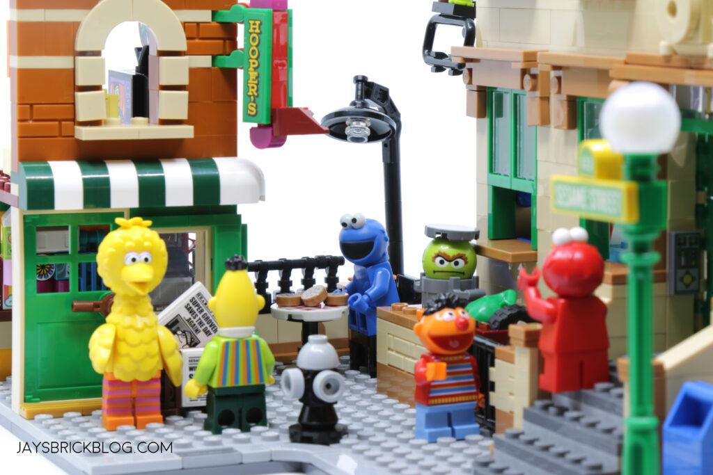 LEGO Sesame Street Scene