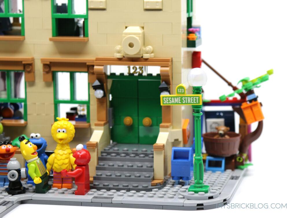 LEGO Sesame Street Entrance
