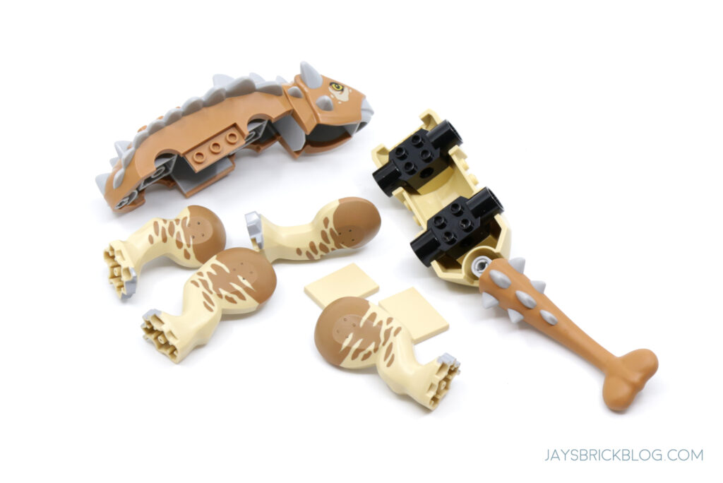 LEGO Ankylosaurus Pieces
