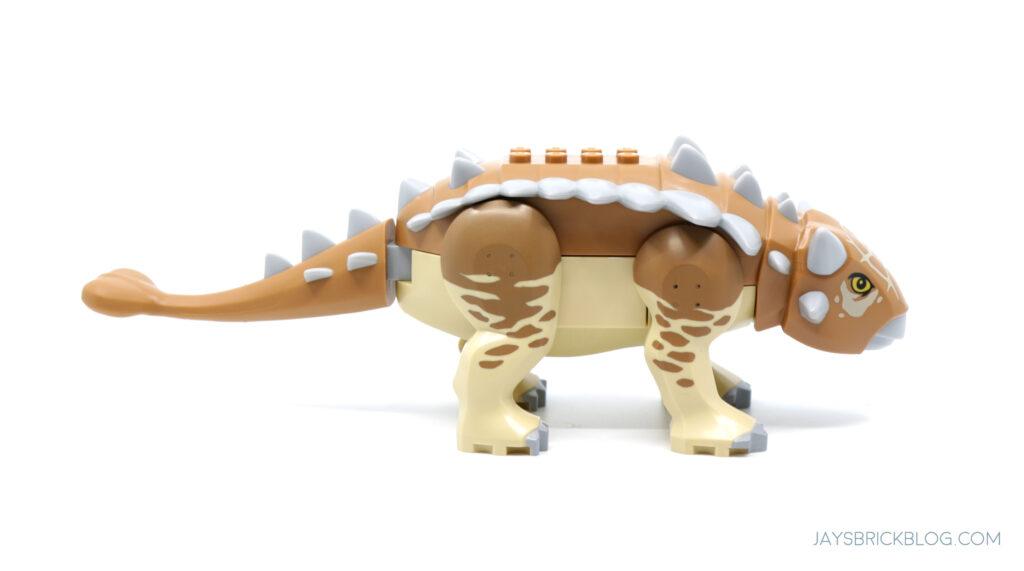 LEGO Ankylosaurus Side