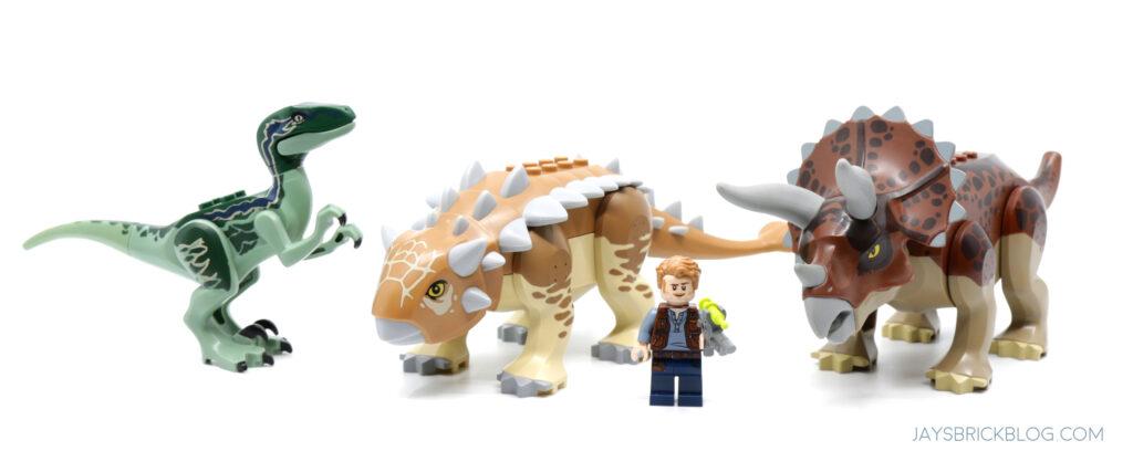 LEGO Ankylosaurus Size Comparison