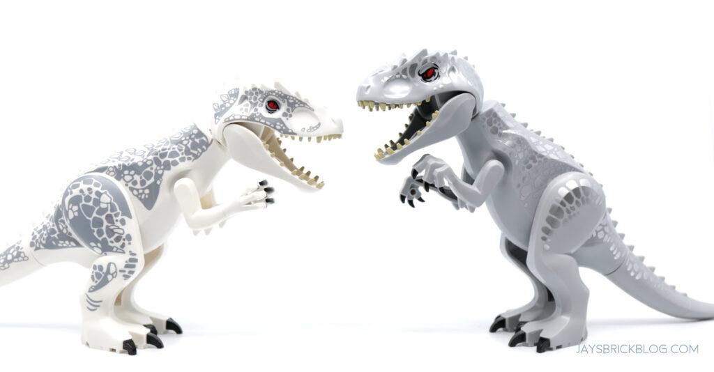 LEGO Indominus Rex Comparison Old vs New