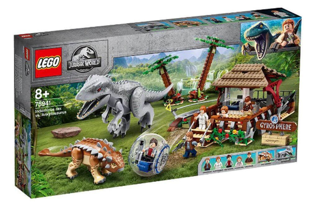 LEGO 75941 Indominus Rex vs Ankylosaurus Box