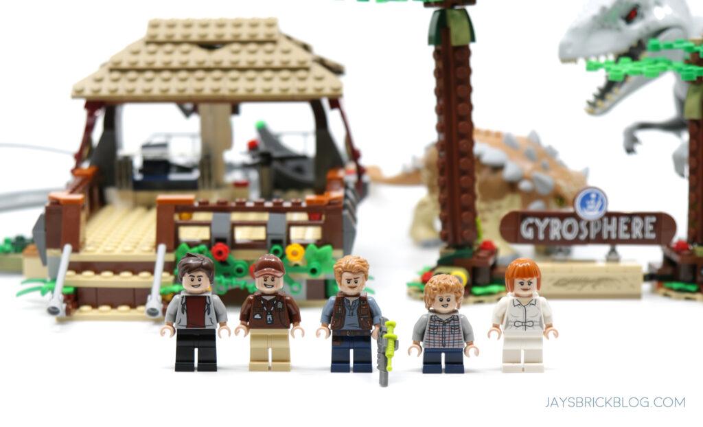 LEGO 75941 Indominus Rex vs Ankylosaurus Minifigures