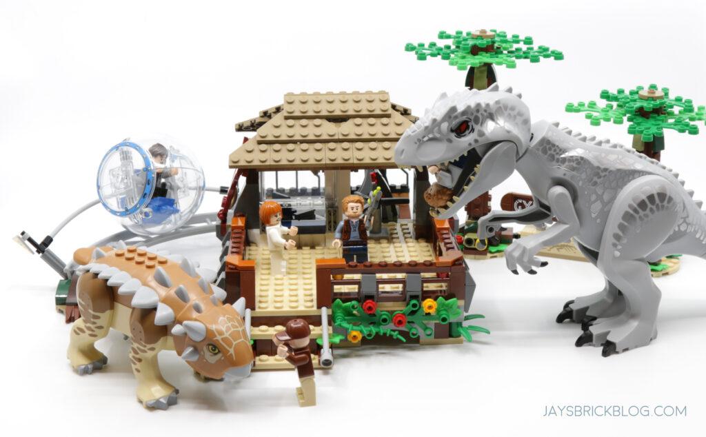LEGO 75941 INDOMINUS REX VS ANKYLOSAURUS Set Photo
