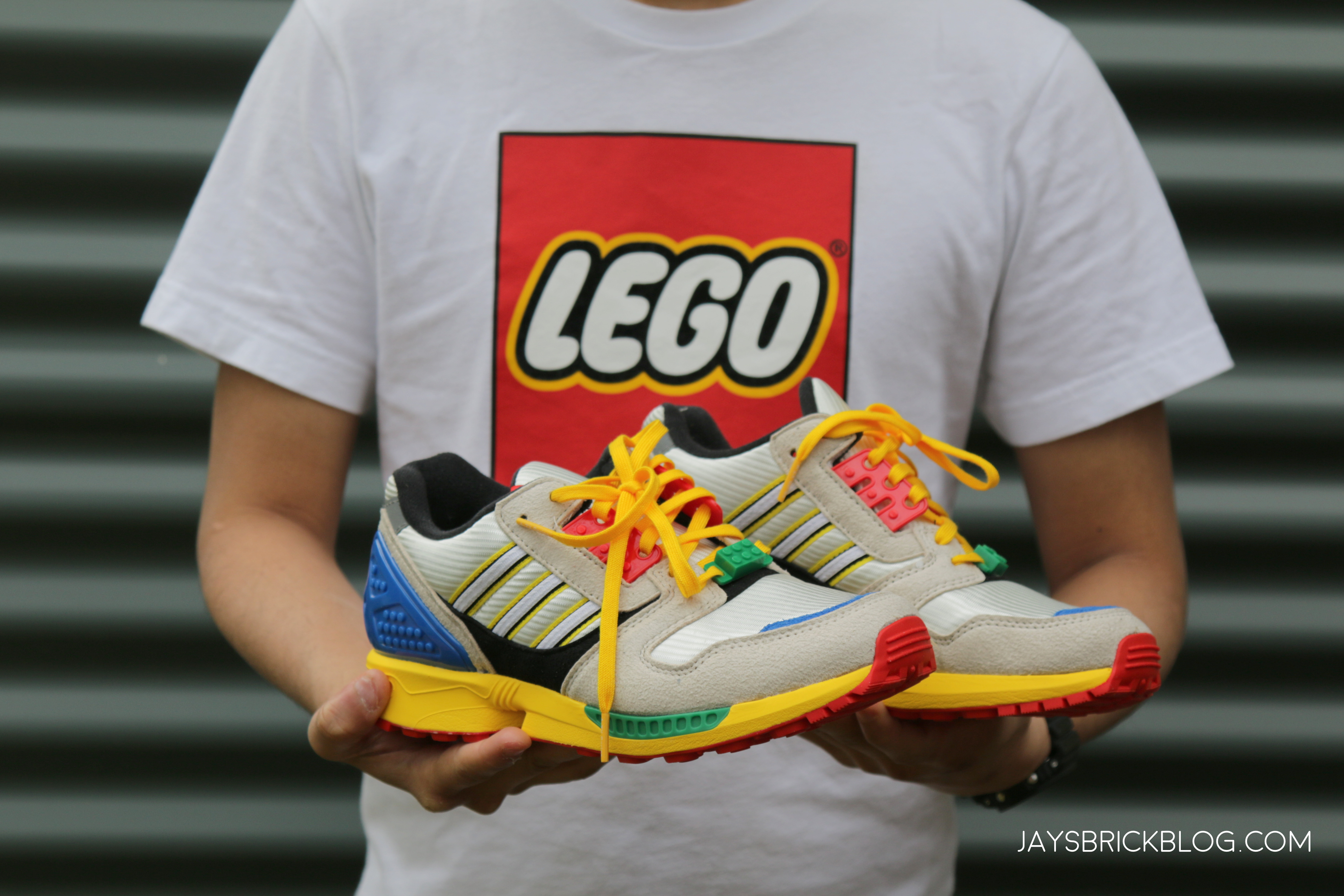 Review: LEGO x Adidas ZX 8000 Sneaker - Jay's Brick Blog