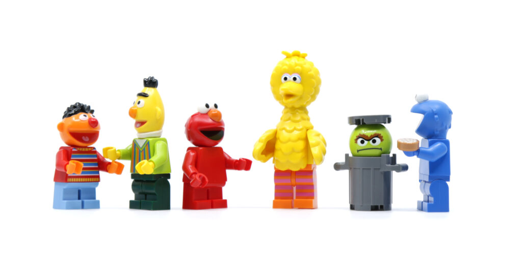 LEGO Sesame Street Minifigures Characters