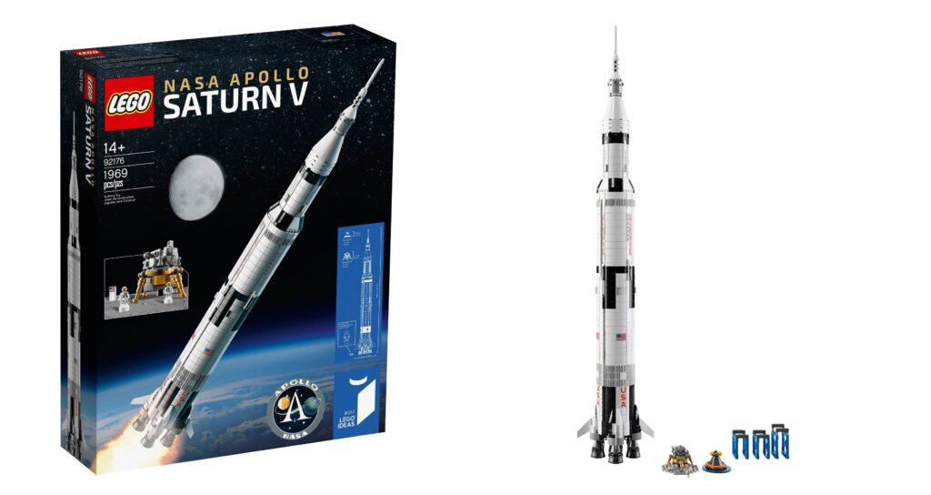 LEGO 92176 NASA Apollo Saturn V Feature Photo
