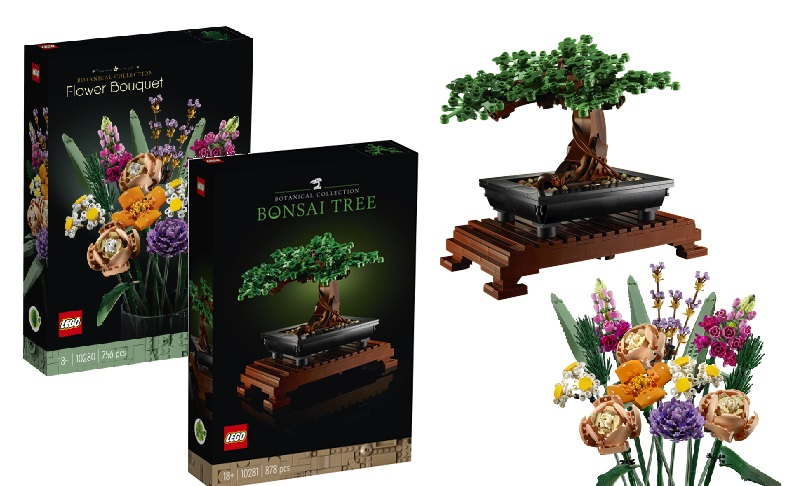 First Look At The 2021 Lego Bonsai Tree Flower Bouquet Jay S Brick Blog