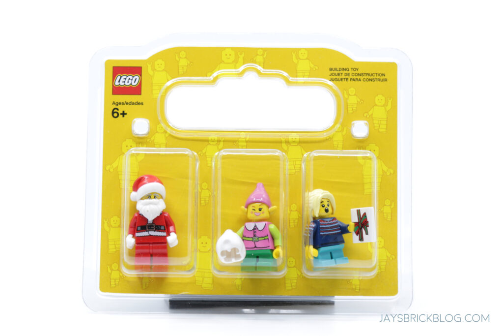 New Build a Minifigure Christmas 2020 Blister Pack