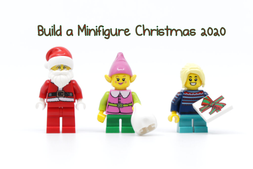 New Build a Minifigure Christmas 2020 parts