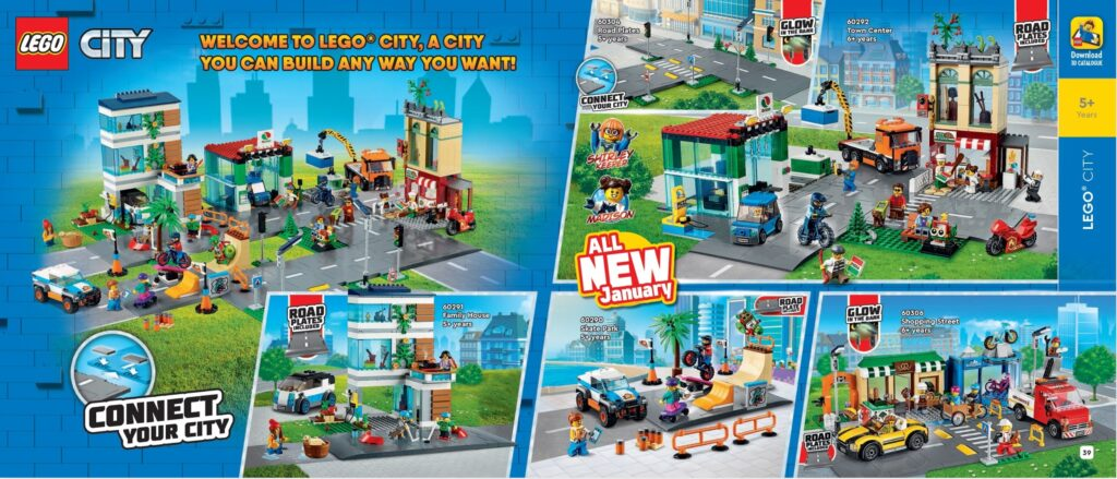 All the new 2021 LEGO sets featured in the 1HY Catalogue ...