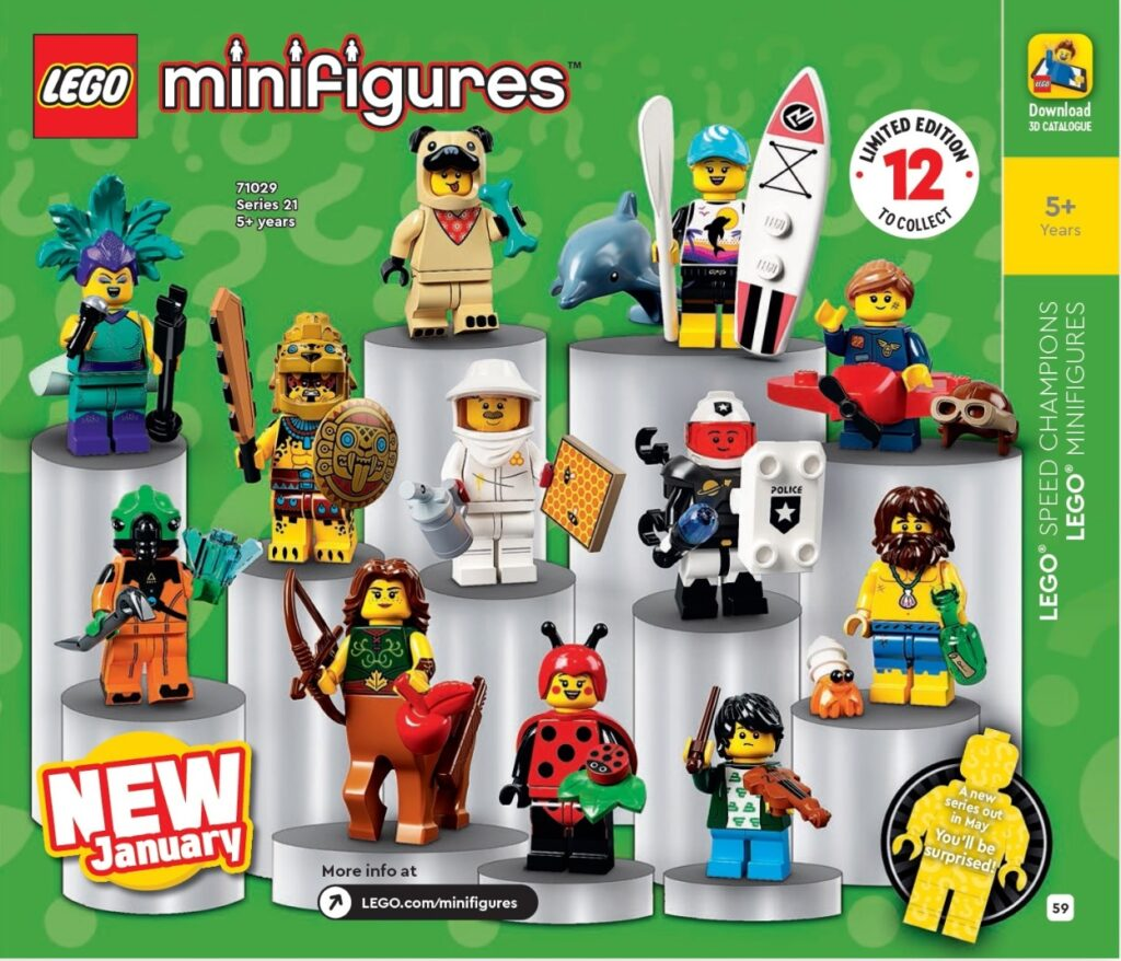 Lego Calendar May 2021 All the new 2021 LEGO sets featured in the 1HY Catalogue   Jay's